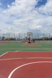 Basketbal court Royalty-vrije Stock Afbeeldingen