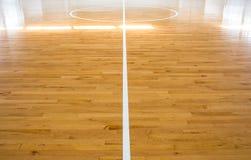 Basketbal court Royalty-vrije Stock Afbeelding
