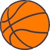 Basketbal - de bal van de Sport Stock Fotografie