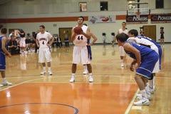 Basketbal de los hombres del NCAA DIV III Imagen de archivo libre de regalías