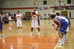 Basketbal des hommes de la division III de NCAA Image libre de droits