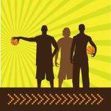 Basketbal_guys Royalty-vrije Stock Fotografie