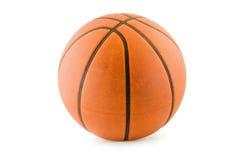 Basketbal met het knippen van weg Stock Foto's