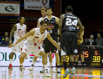 Basketbal Milaan Royalty-vrije Stock Foto
