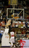 Basketbal Milaan Royalty-vrije Stock Afbeelding
