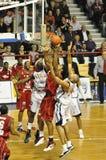 Basketbal, proA, Frankrijk. Stock Afbeelding