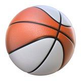 Basketbal rood-wit Stock Afbeeldingen