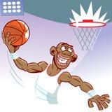 basketbal speler Royalty-vrije Stock Foto's