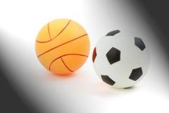 Basketbal, voetbal of Voetbal Royalty-vrije Stock Afbeeldingen