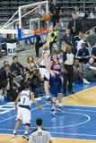 Basketbalactie Stock Foto's