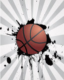 Basketballdesign Stockbilder