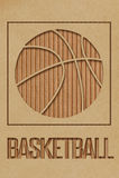 Basketbalconcept Royalty-vrije Stock Afbeeldingen