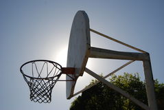 Basketbalhoepel Royalty-vrije Stock Afbeeldingen