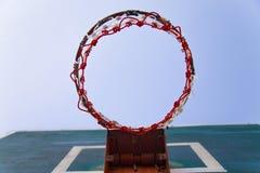 Basketbalhoepel Royalty-vrije Stock Fotografie