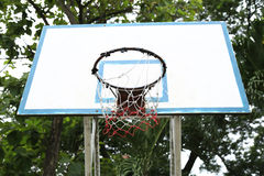Basketbalhoepel Royalty-vrije Stock Foto