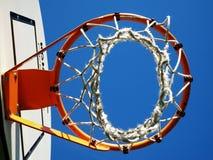 Basketbalhoepel Royalty-vrije Stock Foto's