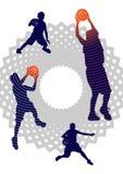 Basketbaljongens Royalty-vrije Stock Foto's