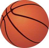 Basketball. Ball on a white background Royalty Free Stock Photo