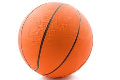 Basketball. Brand new basketball ready for action Stock Image