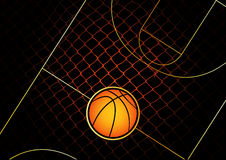Basketball. Vector illustration for basketball - vector images can be scaled to any size Stock Photo