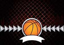 Basketball. Vector illustration for basketball - vector images can be scaled to any size Royalty Free Stock Images