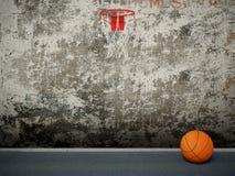 Basketball. Circle and orange ball vector illustration