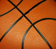 Basketball. Textures and details, with dots and lines Royalty Free Stock Photos