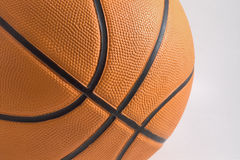 Basketball. An official collegiate size basketball Royalty Free Stock Images