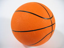 Basketball. A basketball on white background Royalty Free Stock Image