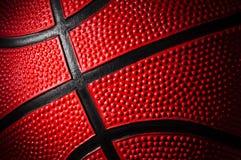 Basketball. Close up shot of basketball - background Stock Photography