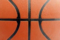 Basketball. Macro of a ball of basketball Stock Images