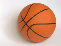 Basketball. On a white background