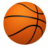 Basketball. 3d basketball (isolated on white and clipping path Stock Photography