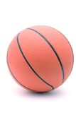Basketball. Isolated against a white background Royalty Free Stock Image