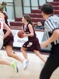 Basketball 3 der Frauen Hochschul Lizenzfreies Stockfoto