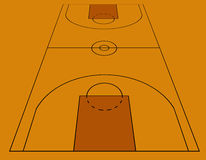 Basketball royalty free illustration