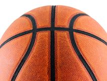 Basketball. Isolated on a white background Royalty Free Stock Photos