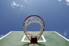 Basketball 8. Basketball playground at the montenegro Royalty Free Stock Photo