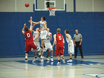 Basketball Action Royalty Free Stock Image