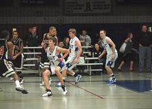 Basketball Action Royalty Free Stock Photography