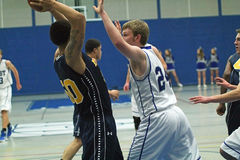 Basketball Action Royalty Free Stock Photo