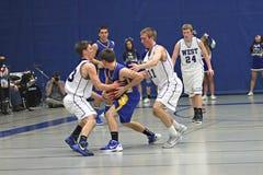 Basketball Action Stock Photo