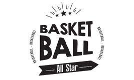 Basketball All-Star- Lizenzfreies Stockbild