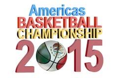 Basketball American Championship 2015 Stock Photography