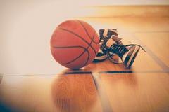 Free Basketball And Basketball Shoes Stock Photo - 122013860