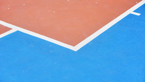 Basketball arena_1. Basketball arena court Field sports flooring made of rubber Stock Photos