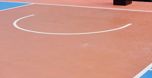 Basketball arena_5. Basketball arena court Field sports flooring made of rubber Stock Images