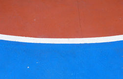Basketball arena_6. Basketball arena court Field sports flooring made of rubber Royalty Free Stock Photo