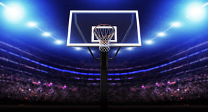 Basketball arena Stock Image