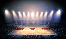Basketball arena Royalty Free Stock Image